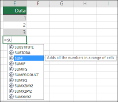 creating formulas in excel overview of formulas in excel excel