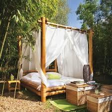 20 Fascinating Bamboo Canopy Beds and Daybeds | Home Design Lover