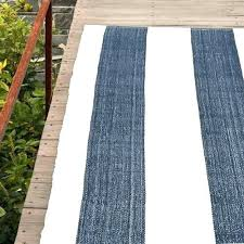navy and white outdoor rug blue rugs indoor falls village stripe c striped