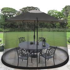patio umbrella screen house table cover 9ft mosquito canopy bug insect net tent 792384393273