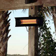 infrared patio heater. Fire Sense Black Steel Wall Mounted Infrared Patio Heater - 60460 F