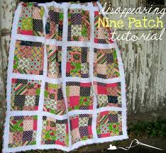 Scrappy Disappearing 9-Patch Tutorial &  Adamdwight.com