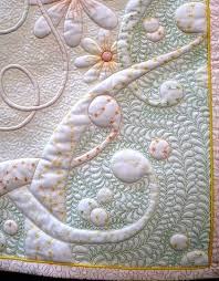 57 best Quilting Trapunto images on Pinterest | Block quilt ... & Philippa Naylor--detail of wholecloth quilt, FMQ with trapunto Adamdwight.com