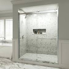 magnificent 1 4 inch frameless shower door standard size semi 1 4 inch glass sliding shower magnificent 1 4 inch frameless shower door