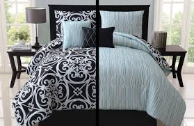 bedding with teal accents bedding set thrilling black and white with teal accents with bed linen