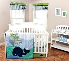bedding sets trend lab image anchors away 3 piece crib set baby northwoods