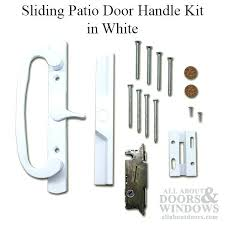 sliding glass door handle with lock and key patio door handle kit vinyl sliding door white