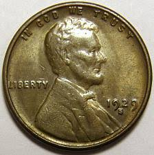 1929 S Lincoln Wheat Penny Coin Value Prices Photos Info
