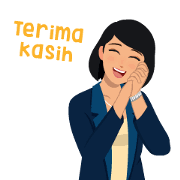 Come and get our whatsapp stickers! Mita Dika Animated Stickers Sticker For Line Whatsapp Telegram Android Iphone Ios