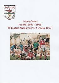 Millwall fc* nov 9, 1965 in london, england. Jimmy Carter Arsenal 1991 1995 Original Hand Signed Magazine Cutting Ebay