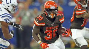 D'Ernest Johnson: From fisherman to the Browns - YouTube