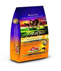 Zignature Feeding Chart Zignature Limited Ingredient Kangaroo Formula 4lb
