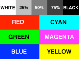 Color Test For Printer L L L L