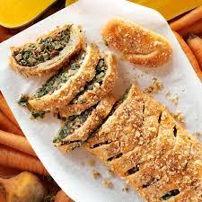 Tuscan Artichoke Spinach Strudel Recipe Taste Of Home