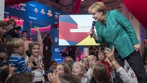 She is also the first german leader who grew up in the communist east. Angela Merkel Tells Kids She Loves Hedgehogs And Spaghetti