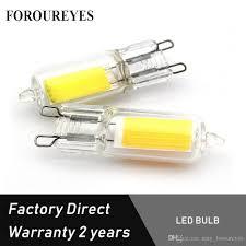 Free Led Light Bulb Samples Free Sample G9 Led Bulb Cob 220v 110v 3w G9 Light Glass Led Lamps For Pendant Lighting Fixture Chandeliers By Dhl Dimmable Light Bulbs Halogen Light