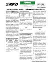 Loctite Usage Chart Sb 2 246 H Jghv 531 High Volume Low Pressure Spray