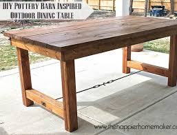 diy farmhouse table diy dining table