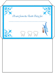 tooth fairy letter envelope
