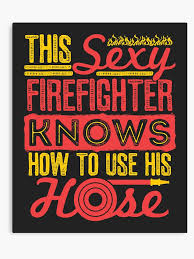 y firefighter funny es fireman gifts canvas print