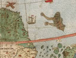 A Vast 430 Year Old World Map Full Of Places And Creatures