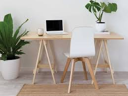 word 39office desks workstations39and. Mocka Trestle Desk - Natural Legs \u0026 Top With Piper Rug And Harper  Chair Word 39office Desks Workstations39and C