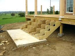 building a deck on the ground how to build deck steps how to install decking on