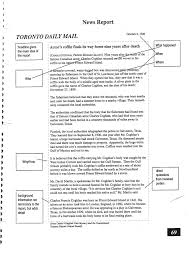 news article format printable newspaper article template for students news report format