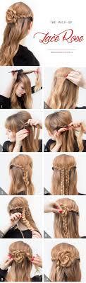 Best 25 Rose Bun Ideas On Pinterest Cute Simple Hairstyles