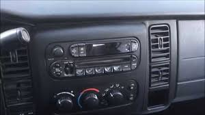 2001 2004 dodge dakota durango radio stereo deck installation 2001 2004 dodge dakota durango radio stereo deck installation replacement video