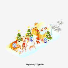Christmas Scenes Free Downloads Winter Christmas Scene Atmosphere Winter Christmas Scenes