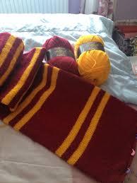Harry Potter Scarf Knitting Pattern New Decorating Design