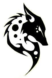 tribal fox drawing.  Fox Tribal Fox Head Tattoo By AkeleuWolf On Tribal Fox Drawing