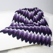 Ripple Afghan Pattern Free Mesmerizing 48 Easy Ripple Crochet Blanket Patterns Dabbles Babbles