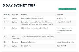 How To Build A Great Travel Itinerary