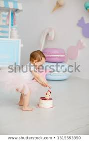 First Birthday Party Little Girl Princess Stock Photo Edit Now
