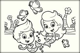 Small Picture Printable Bubble Guppies Coloring Pages For Kids Color Zini