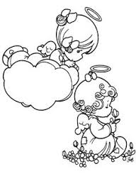 Small Picture Precious Moments Angel And Baby Coloring Pages Precious Moments