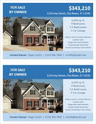 home for sale template fsbo flyer template for word