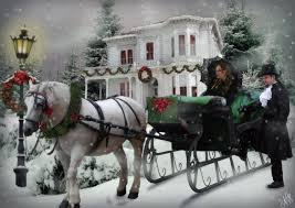 Image result for CHRISTMAS HORSE AND BUGGY RIDE