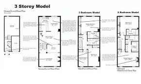 Three Storey House Floor Plan  House And Home DesignThree Story Floor Plans