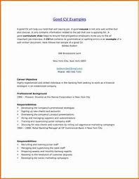 Example Of Good Resumes - Gcenmedia.com - Gcenmedia.com