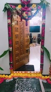 House Main Door Design With Flowers Pin By Rekha P On Ideas For The House Door Design Main