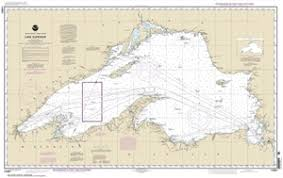 Great Lakes Navigation Charts 14961 Lake Superior Nautical Chart