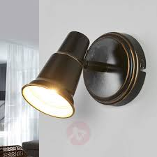 Lighting 1930s House Arielle Antique Looking Wall Lamp In Black 9639101 38 Home