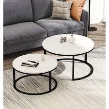 bjartey 2 piece coffee table set