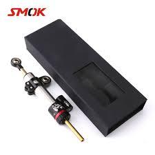 SMOK Universal Motorcycle Adjustable Steering Damper Stabilizer ...