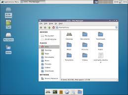 xfce desktop environment installed on ubuntu 14 04