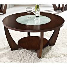 top 43 superb rafael round coffee table led glass dark cherry wood dcg with drawers and end tables lift top legs set uk plans garden sets silver