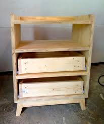 Suitcase Nightstand furniture bedroom lovely unstained pine wood three drawers remodel 3227 by guidejewelry.us